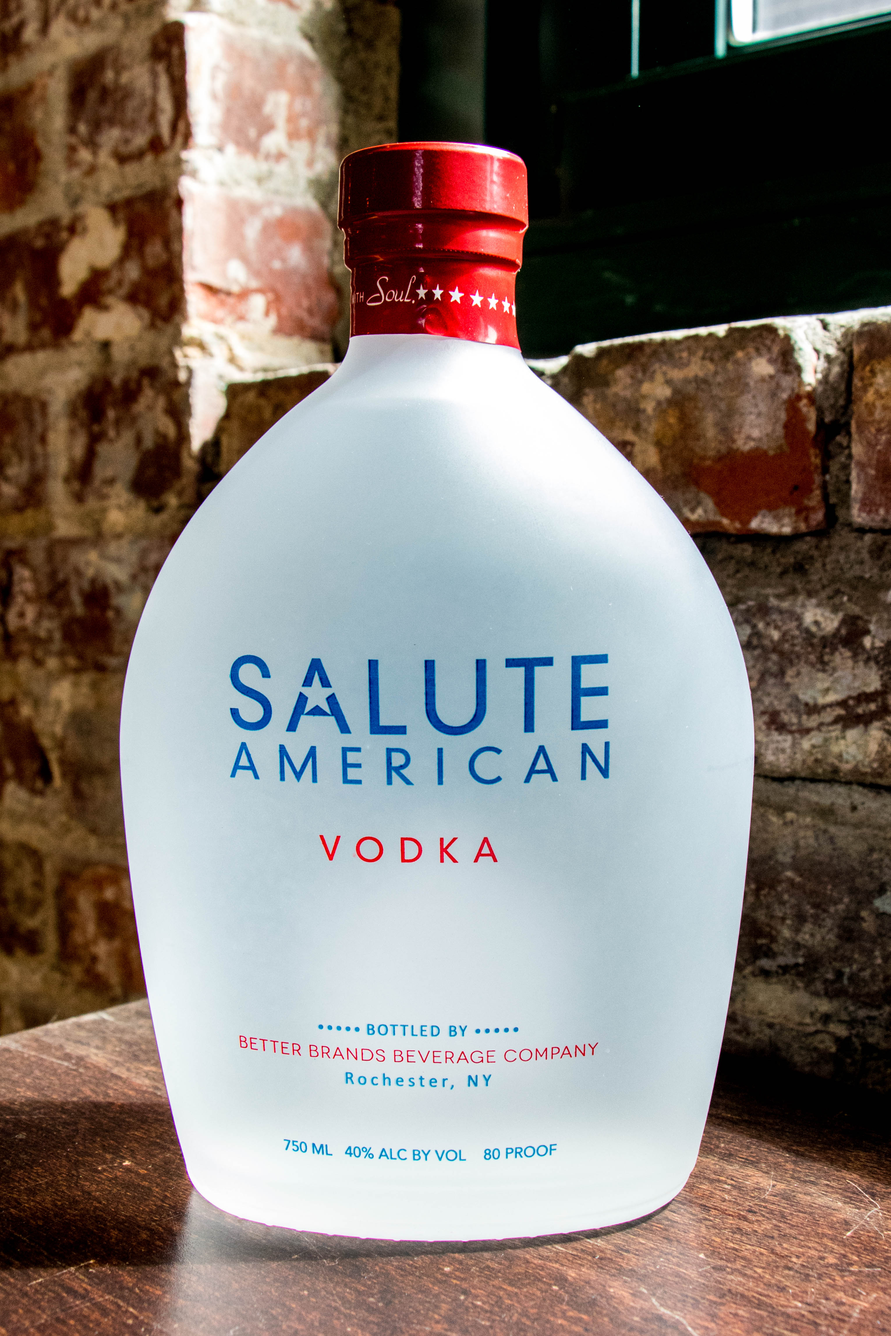 Salute American Vodka Partners with Burke Distributing Corporation