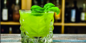Leprechaun Julep Cocktail